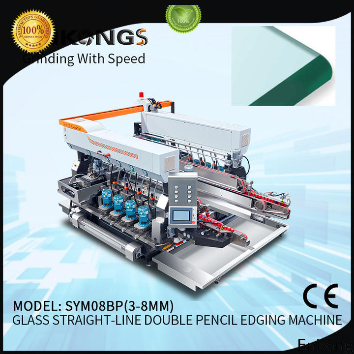 real double edger machine SYM08 manufacturer for round edge processing