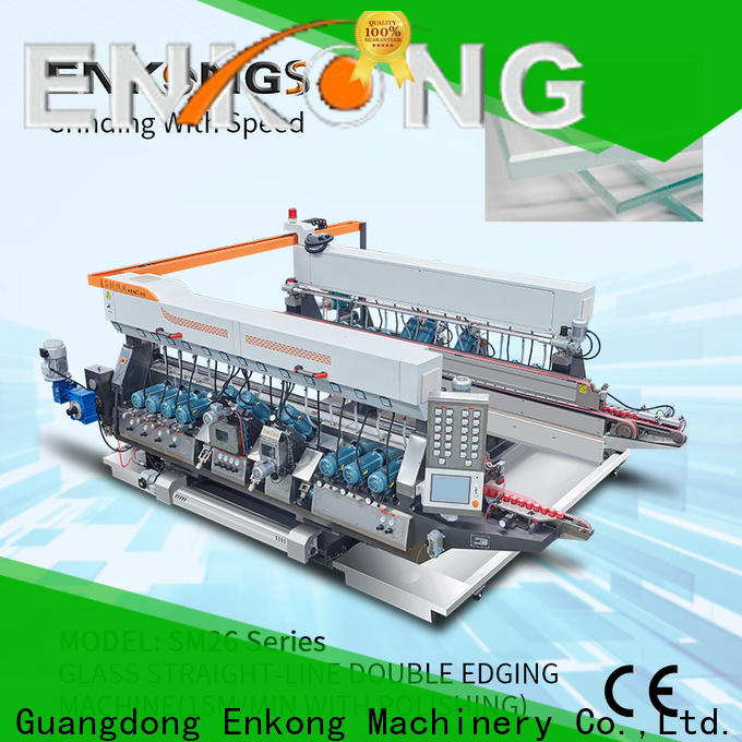 Enkong straight-line double edger machine manufacturer for household appliances