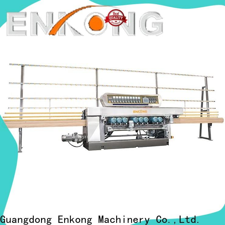 real glass beveling machine 10 spindles wholesale for polishing