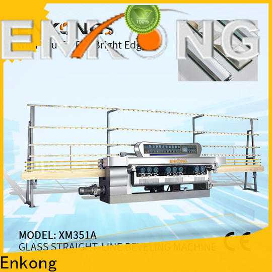 Enkong xm363a glass beveling machine for sale wholesale for glass processing
