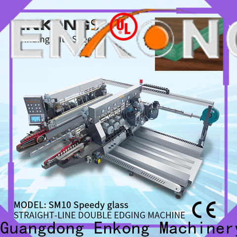 Enkong high speed double edger machine factory direct supply for household appliances