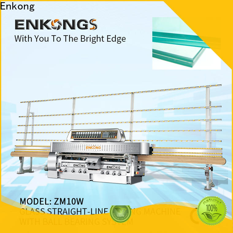 Enkong waterproof glass machinery factory direct supply for processing glass