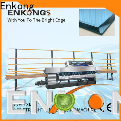 Enkong long lasting glass beveling machine for sale factory direct supply for polishing