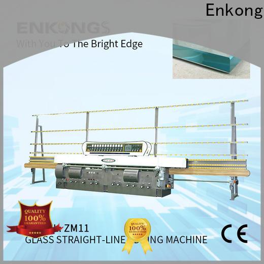 Enkong zm11 glass edge polishing supplier for fine grinding