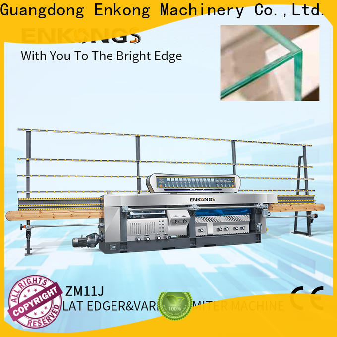 real glass mitering machine 60 degree supplier for polish