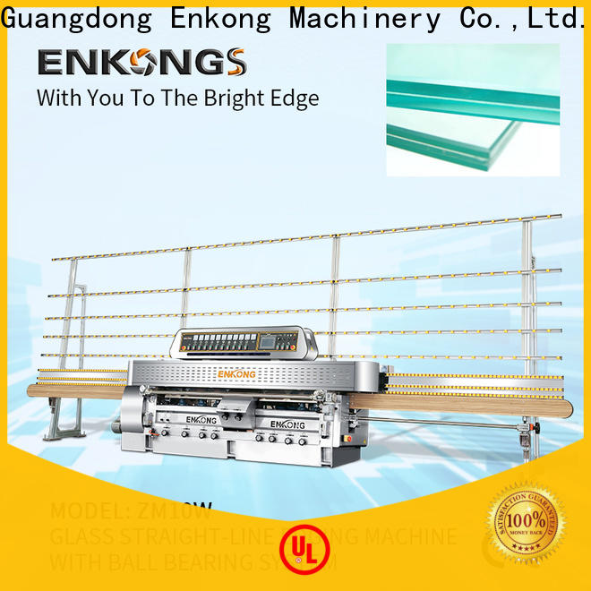 Enkong 45° arrises glass machinery series