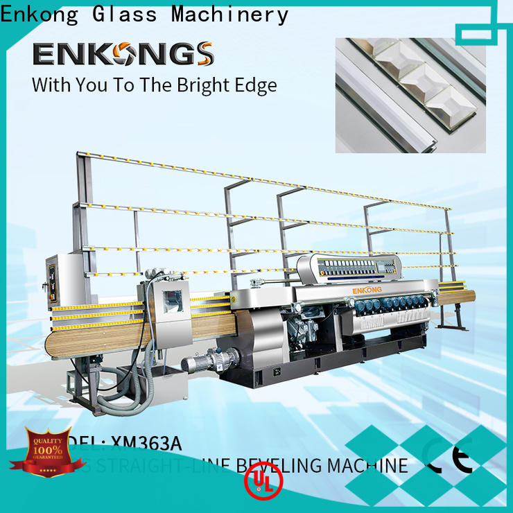 Enkong long lasting glass beveling machine series for polishing