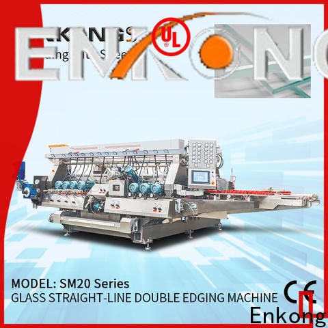 Enkong SM 20 glass double edging machine wholesale for household appliances