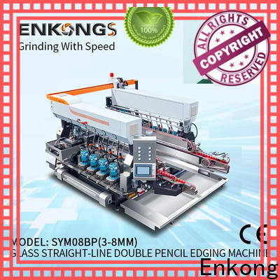 Enkong real glass double edging machine series for household appliances
