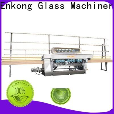 Enkong long lasting glass beveling machine factory direct supply for polishing