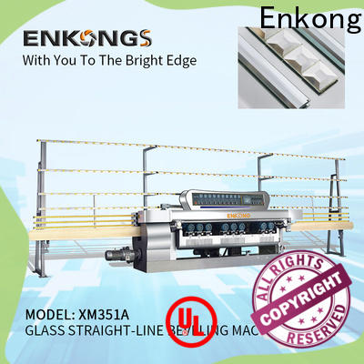 Enkong efficient glass beveling machine for sale wholesale for polishing