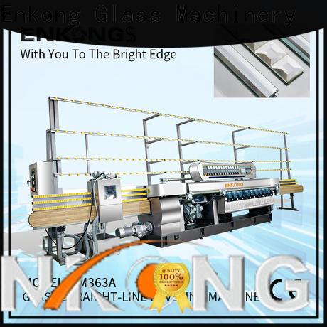 Enkong long lasting glass beveling machine manufacturer for polishing