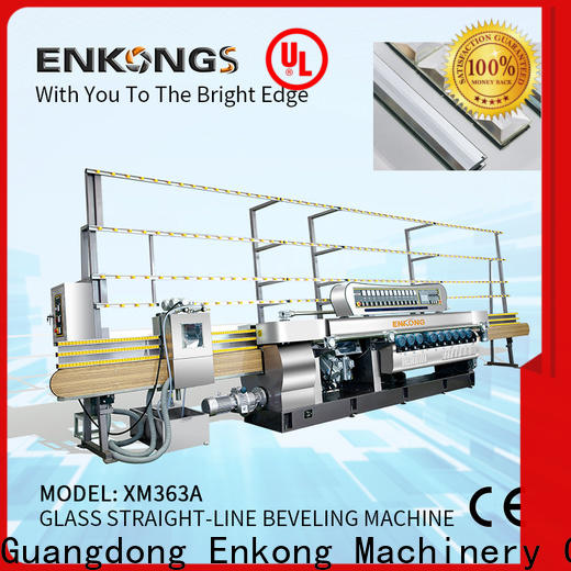 cost-effective glass beveling machine xm371 series for polishing
