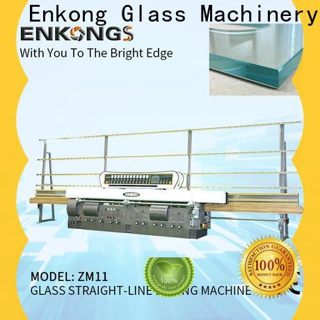 Enkong zm7y glass edge polishing customized for fine grinding