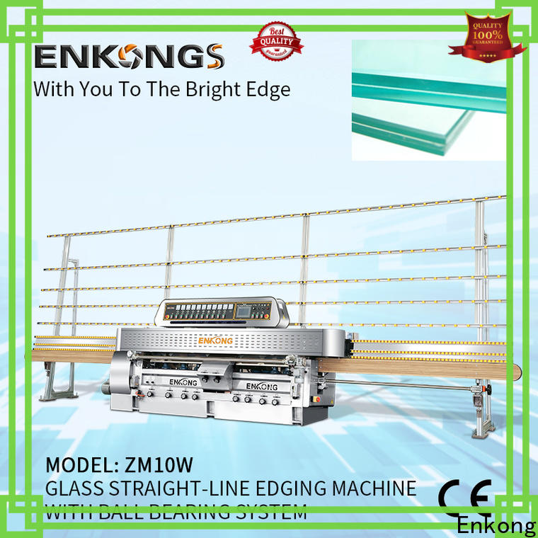 Enkong professional glass machinery series for processing glass