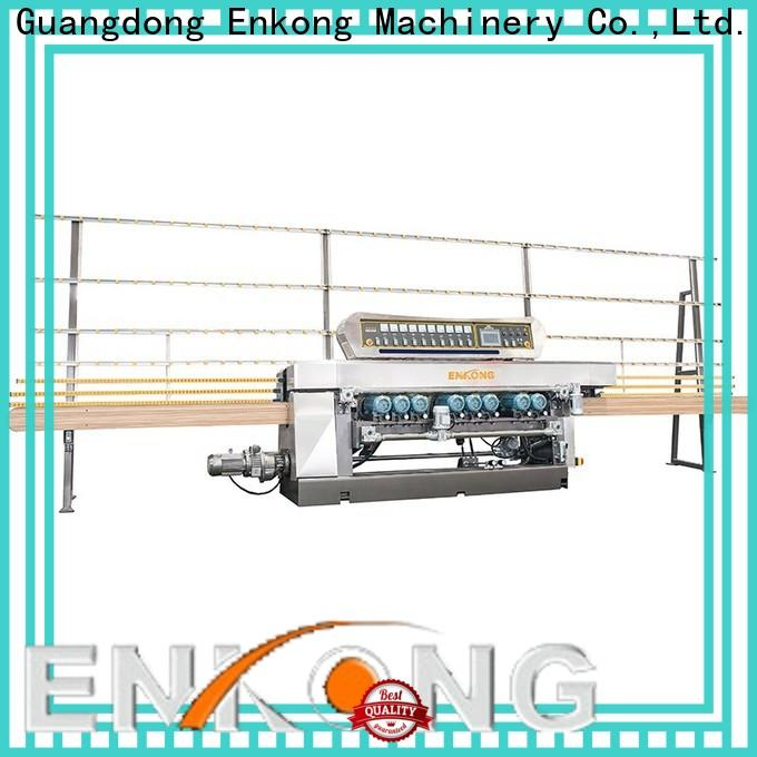efficient glass beveling machine xm371 series for glass processing