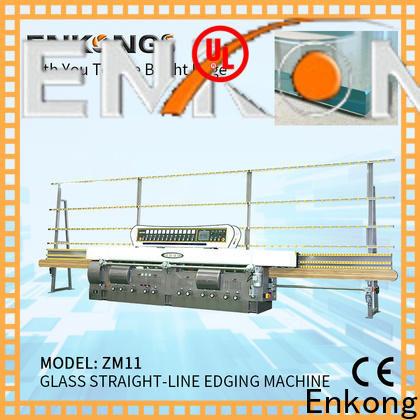 Enkong stable glass edge grinding machine series for fine grinding