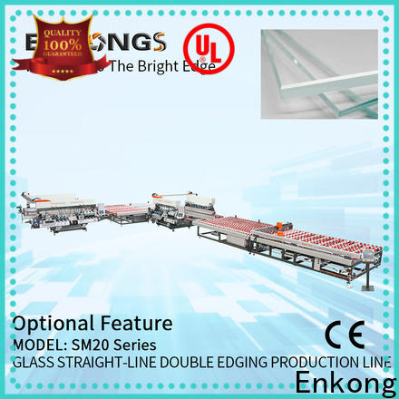 Enkong cost-effective double edger manufacturer for photovoltaic panel processing