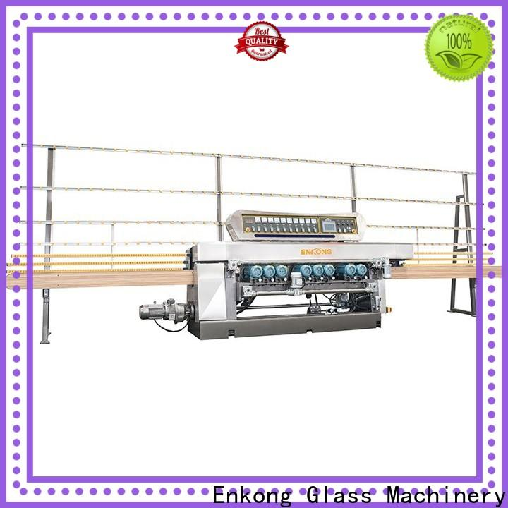 Enkong good price glass beveling machine series for polishing