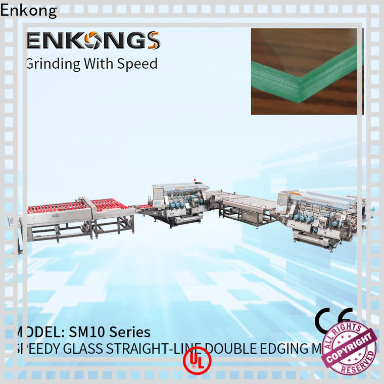 Enkong high speed double edger manufacturer for round edge processing