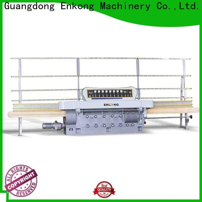 stable glass edging machine zm9 customized for fine grinding