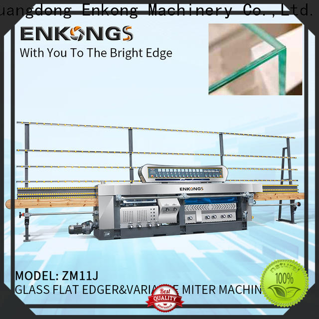 professional glass mitering machine 5 adjustable spindles manufacturer for polish