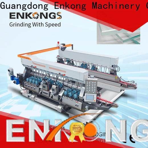 cost-effective glass double edging machine straight-line series for round edge processing