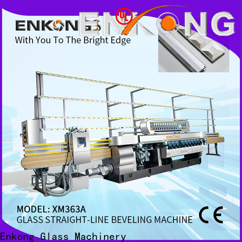 long lasting glass beveling machine 10 spindles series