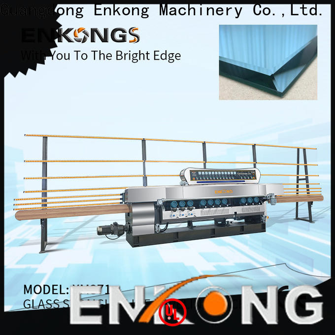 Enkong good price glass beveling machine factory direct supply for polishing