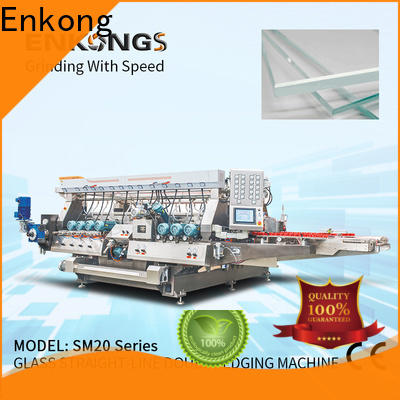 quality double edger machine SM 12/08 manufacturer for photovoltaic panel processing