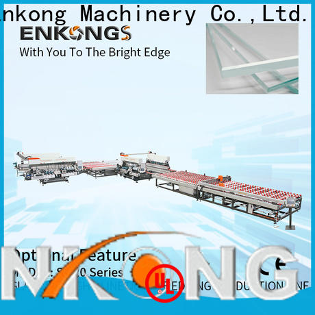 Enkong real glass double edging machine manufacturer for household appliances