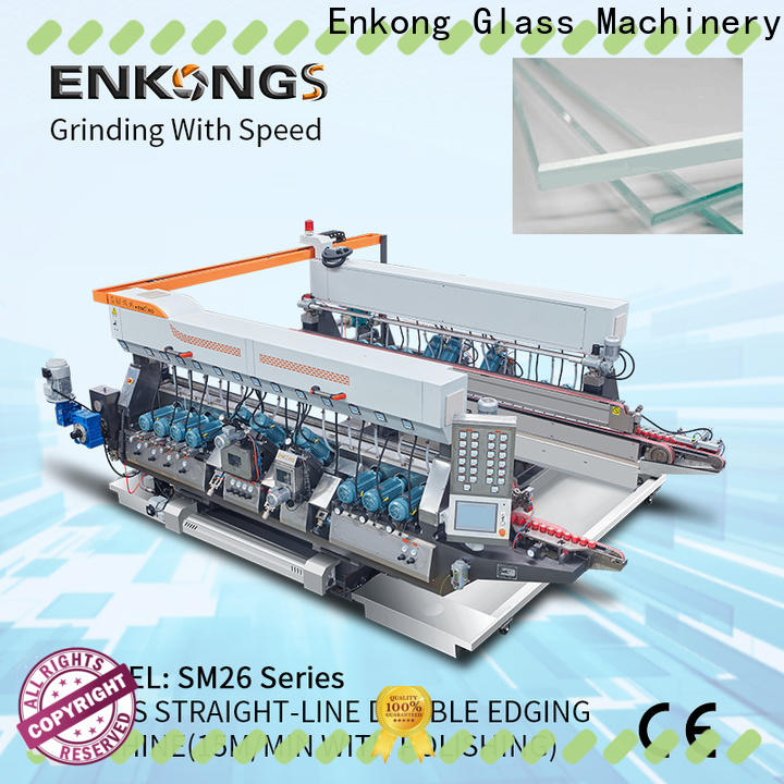 Enkong high speed double edger series for photovoltaic panel processing