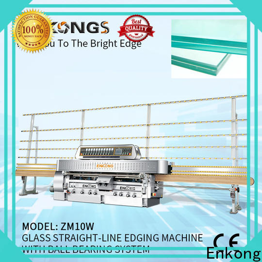 professional glass machinery with ABB spindle motors manufacturer
