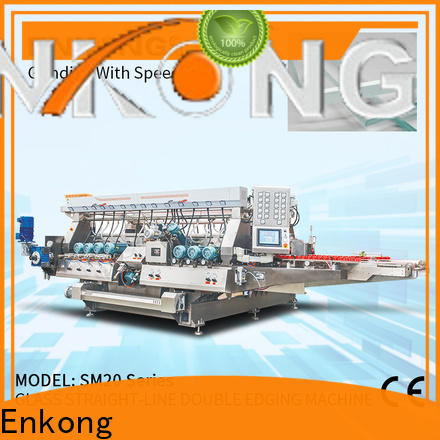 real glass double edging machine SM 26 supplier for photovoltaic panel processing