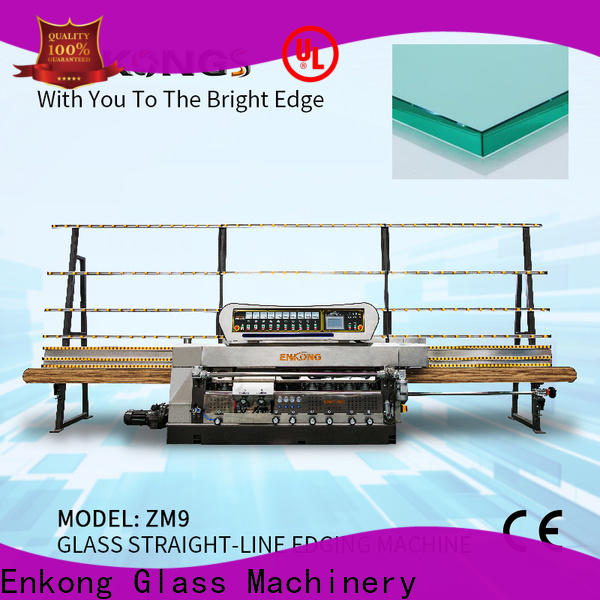 Enkong efficient glass edge grinding machine supplier for fine grinding