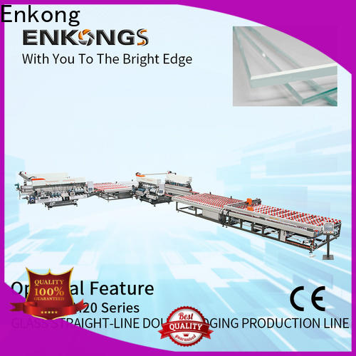 Enkong quality double edger machine series for photovoltaic panel processing