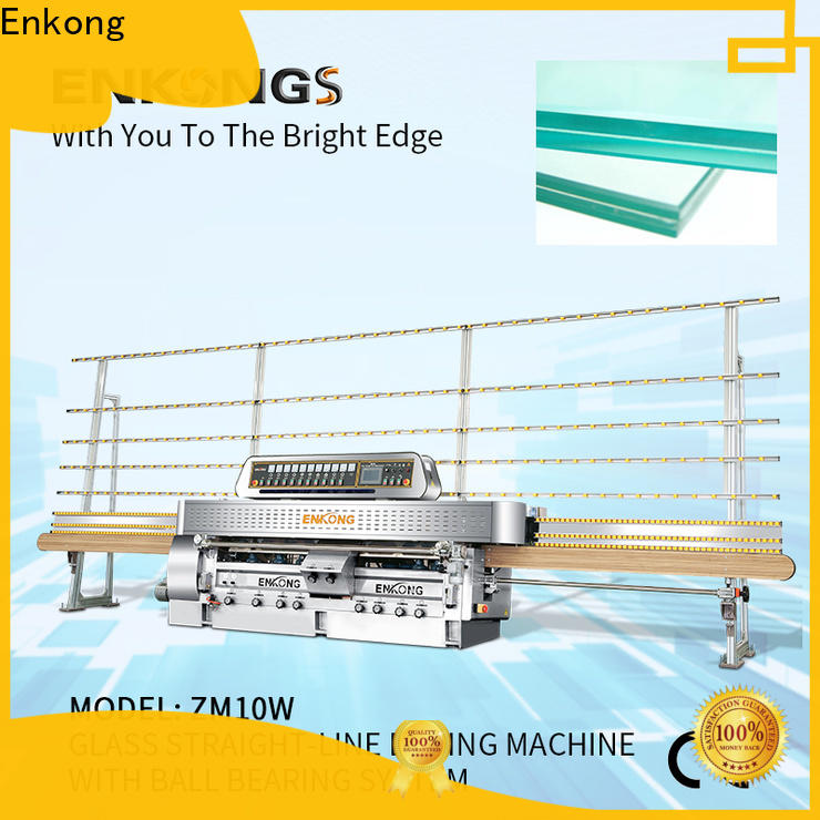 Enkong high precision glass machinery manufacturer for processing glass