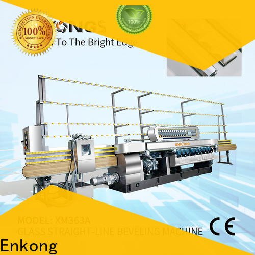 Enkong long lasting glass beveling machine manufacturer for glass processing
