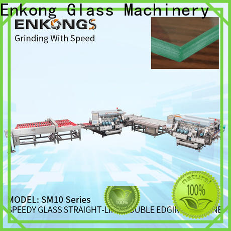 Enkong straight-line double edger machine manufacturer for photovoltaic panel processing