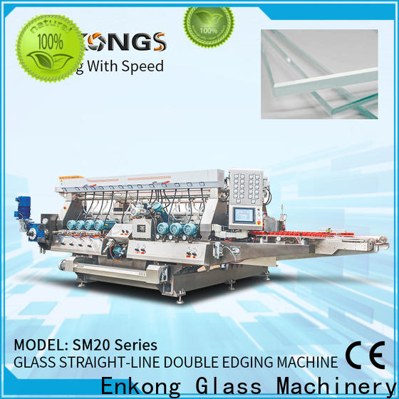 Enkong cost-effective glass double edging machine wholesale for household appliances