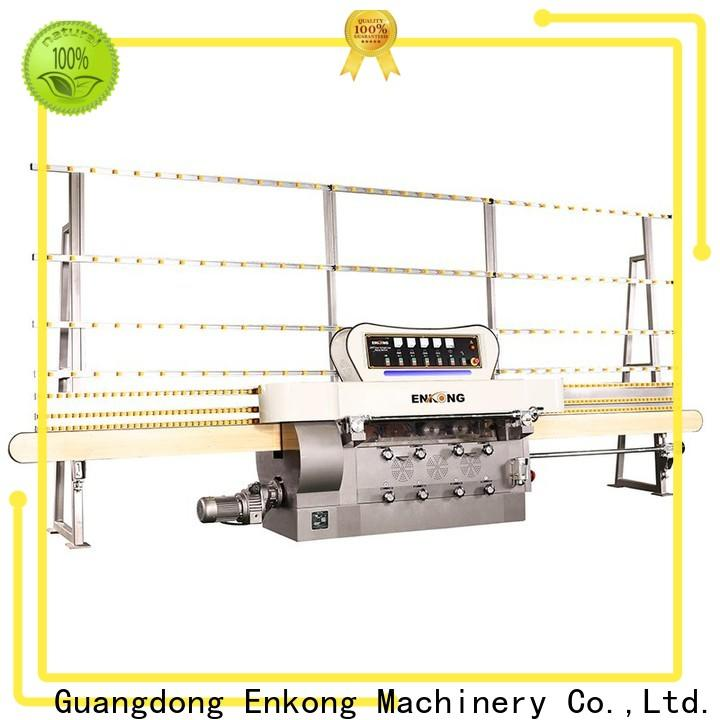 Enkong stable glass edge grinding machine customized for fine grinding