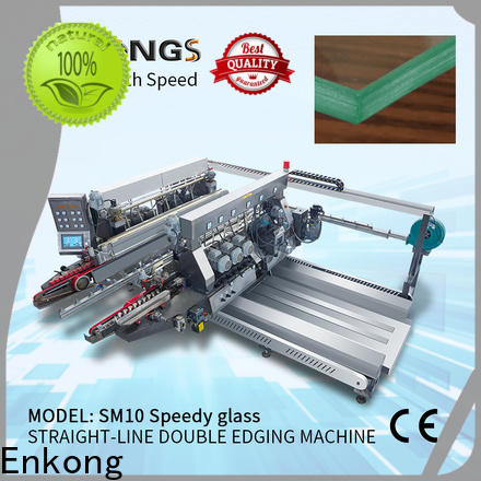 high speed double edger machine SYM08 factory direct supply for photovoltaic panel processing