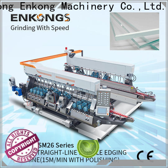 real double edger SM 10 supplier for round edge processing