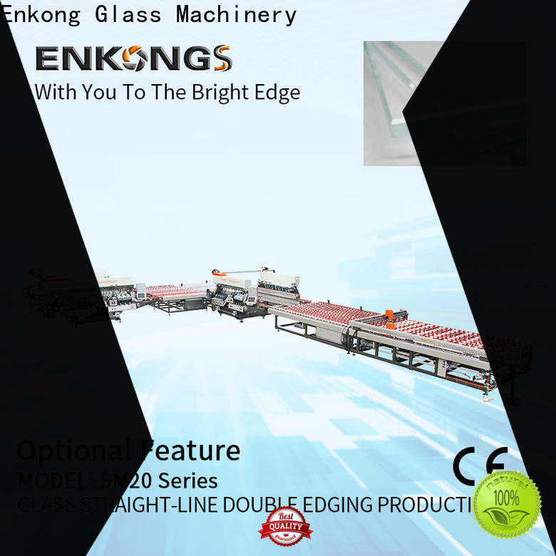 Enkong quality double edger machine factory direct supply for household appliances