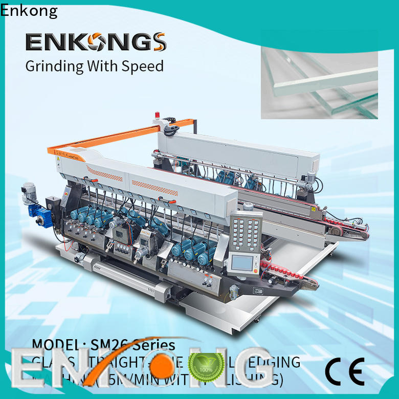 Enkong SM 26 glass double edging machine wholesale for household appliances