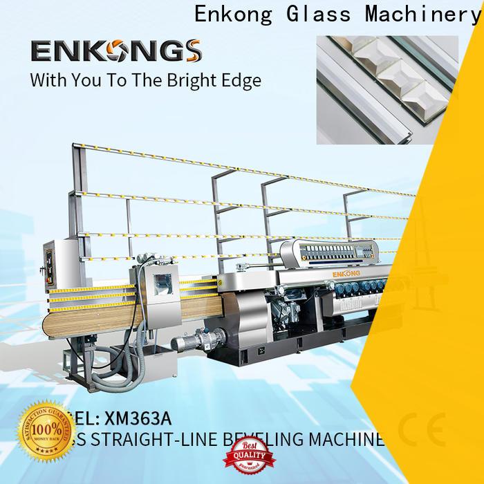 Enkong xm351 glass beveling machine for sale factory direct supply