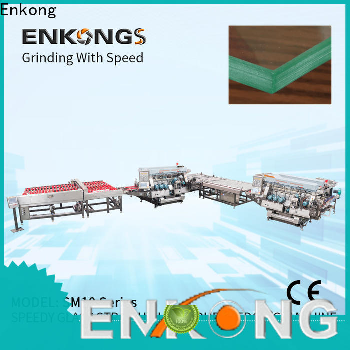 Enkong SM 22 double edger factory direct supply for photovoltaic panel processing