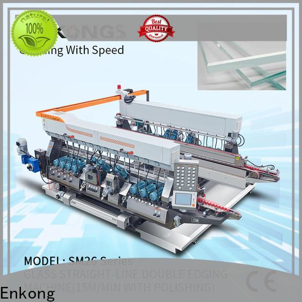 Enkong modularise design double edger series for round edge processing