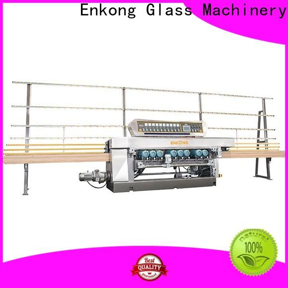 Enkong xm363a glass beveling machine for sale manufacturer for polishing
