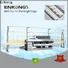 Enkong xm363a glass beveling machine for sale factory direct supply for polishing